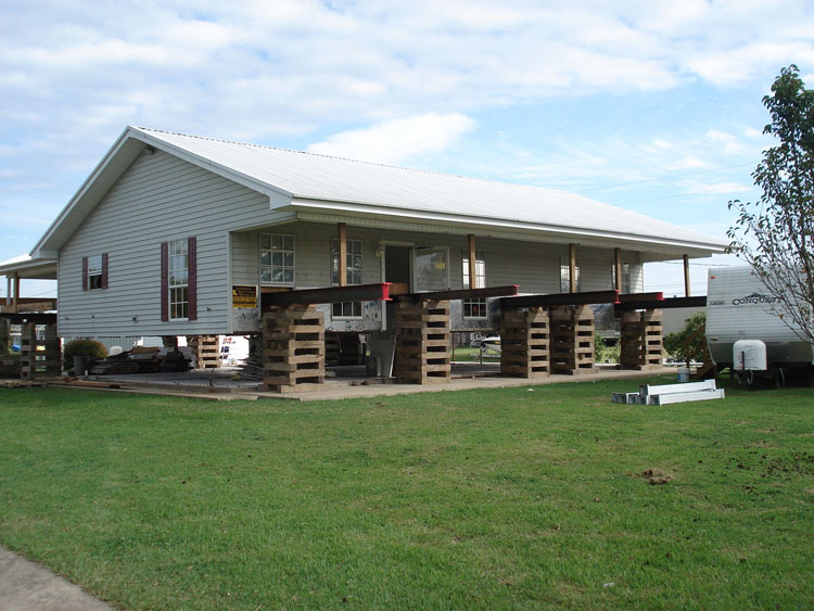Devillier House Movers And Leveling Specializing In Building Pier Beam Foundations Louisiana